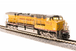 GE AC6000 with Sound and DCC - Paragon3 -- Union Pacific 7562 (Armour Yellow, gray, red Frame Stripe